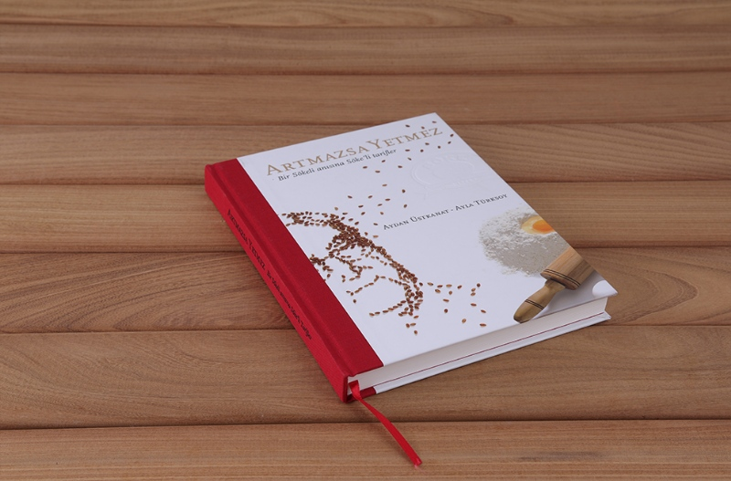 Book design for the flour brand Söke's 50th year (2013)