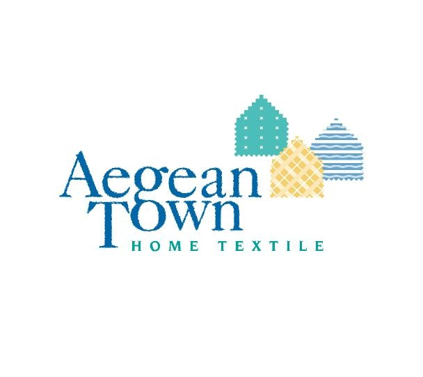 Logotype design for Amsterdam based Aegean Town brand (2002)