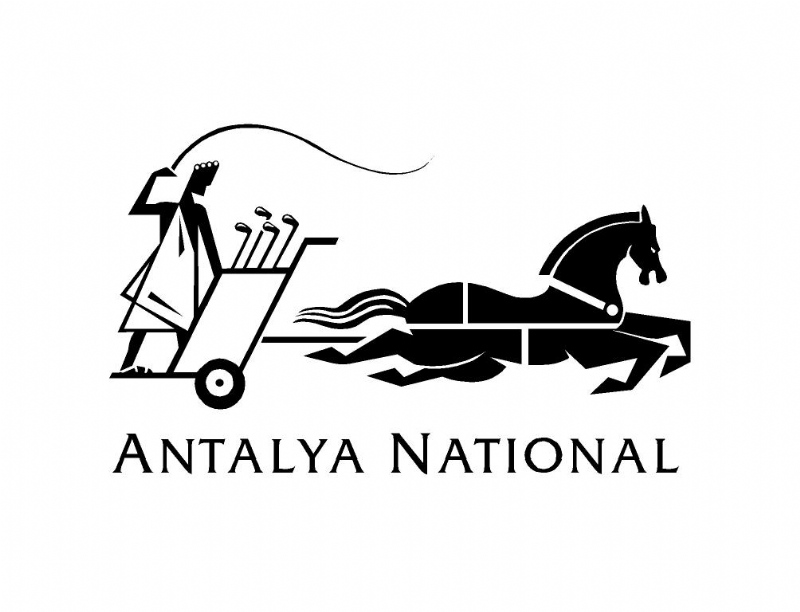 Logotype design for Antalya National Golf Club (1994)