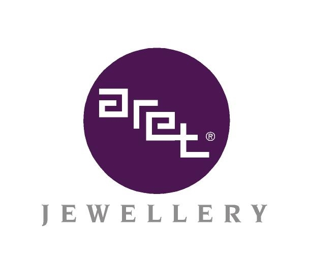 Logotype design for Aret Jewellery (2003)