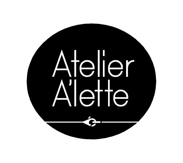 Logotype design for Atelier A'lette (2015)