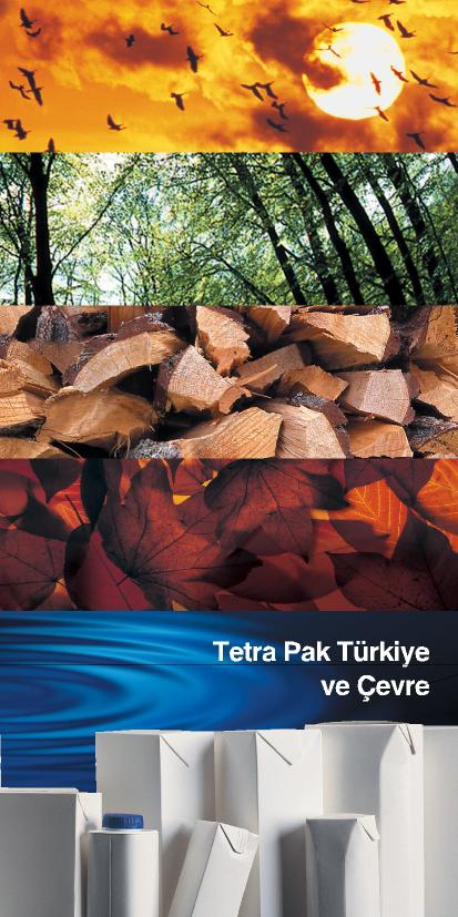 Small sized environment brochure design for Tetra Pak
