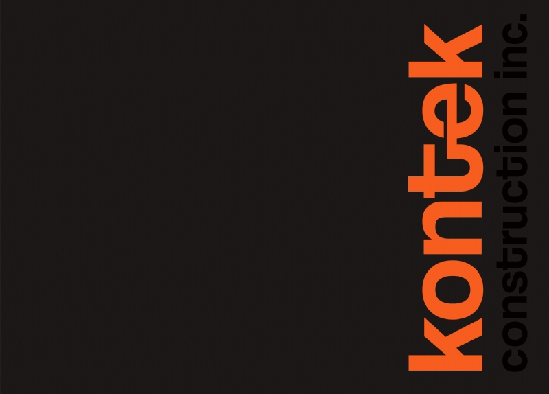 4th edition of Kontek Construction's corporate catalogue (2012)