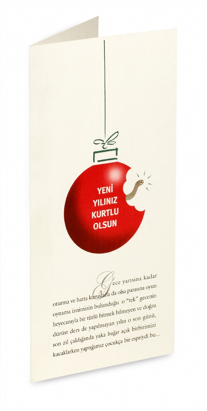 New year greeting card for Molu/Meridyen (2003)