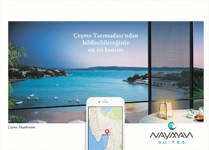 Catalogue design for Nayman Suites project in Çeşme Paşalimanı (2015)