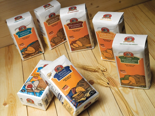 Paper packages for Söke Bread Mixtures (2009)