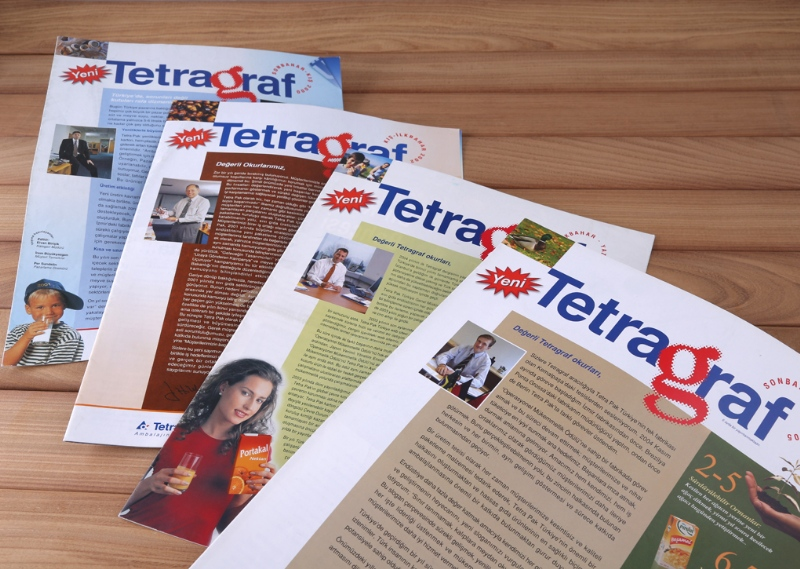 Quarterly newspaper prepared for Tetra Pak (2000-2006)