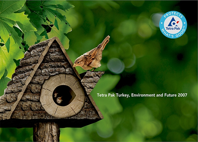 Environment Report design for Tetra Pak (2007)