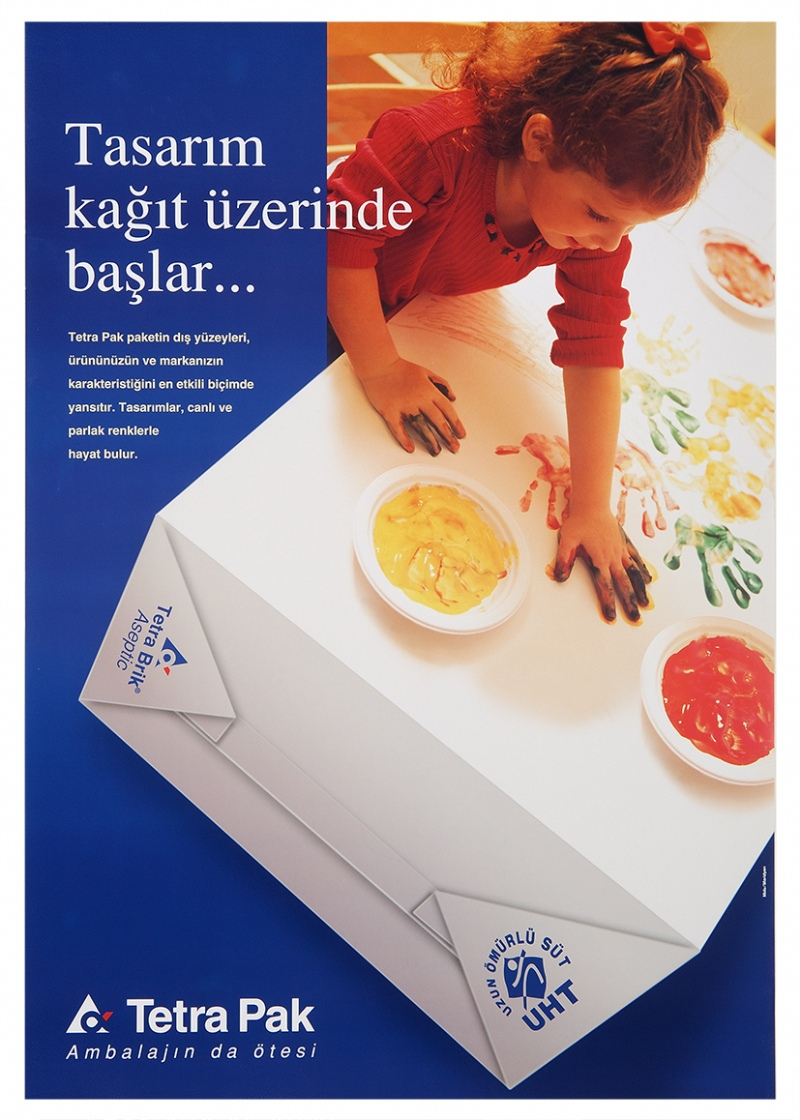 Poster design for Tetra Pak (2001)